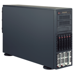 Tower Server - Supermicro SuperServer 8048B-TR3F Quad Xeon® E7-8800 v4 / E7-4800 v4 SAS/SATA 4U Rackmount / Tower Server Computer