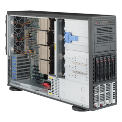 Tower Server - Supermicro SuperServer 8048B-TR4F Quad Xeon® E7-8800 v4/v3 / E7-4800 v4/v3 SAS/SATA 4U Rackmount / Tower Server Computer
