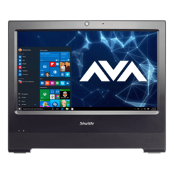All-in-One Desktops - XPC X50V6 Black, 15.6 inch HD with touchscreen, Fanless and silent, All-In-One PC