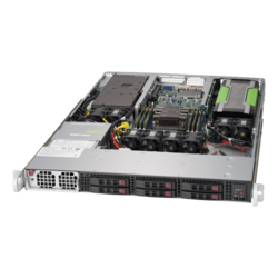 1U Rack Server - Supermicro SuperServer 1019GP-TT, Intel® Xeon® Scalable, SATA, 1U Rackmount Server Computer