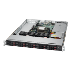 1U Rack Server - Supermicro SuperServer 1019P-WTR Intel® Xeon® Scalable SAS/SATA/NVMe 1U Rackmount Server Computer