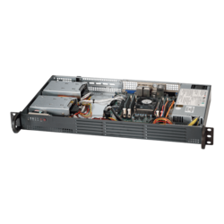 1U Rack Server - Supermicro SuperServer 5019A-12TN4 Intel® Atom® C3850 SATA 1U Rackmount Server Computer