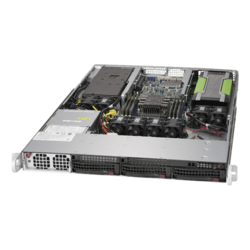 1U Rack Server - Supermicro SuperServer 5019GP-TT, Intel® Xeon® Scalable, SATA, 1U Rackmount Server Computer