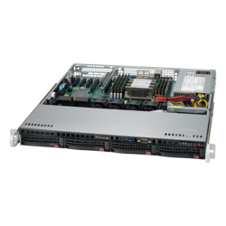 1U Rack Server - Supermicro SuperServer 5019P-MT Intel® Xeon® Scalable Processors SATA 1U Rackmount Server Computer