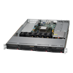 1U Rack Server - Supermicro SuperServer 5019P-WTR Intel® Xeon® Scalable Processors SAS/SATA 1U Rackmount Server Computer
