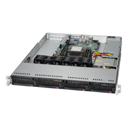 1U Rack Server - Supermicro SuperServer 5019P-WT Intel® Xeon® Scalable Processors SAS/SATA 1U Rackmount Server Computer