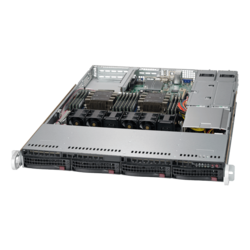 1U Rack Server - Supermicro SuperServer 6019P-WTR Intel® Xeon® Scalable Processors SAS/SATA 1U Rackmount Server Computer