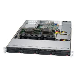 1U Rack Server - Supermicro SuperServer 6019P-WT Intel® Xeon® Scalable Processors SAS/SATA 1U Rackmount Server Computer