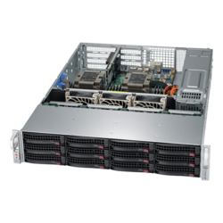2U Rack Server - Supermicro SuperServer 6029P-WTRT Intel® Xeon® Scalable Processors SAS/SATA 2U Rackmount Server Computer