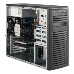 Workstation PC - Supermicro® SuperWorkstation 5038A-I Xeon® E5 SATA Mid Tower Workstation PC