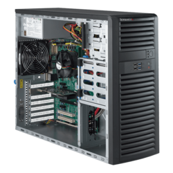 Workstation PC - Supermicro® SuperWorkstation 5039A-IL Xeon® E3-1200 v6 Mid Tower Workstation PC