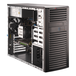 Workstation PC - Supermicro® SuperWorkstation 5039A-I Xeon® W-series Mid Tower Workstation PC