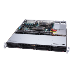 1U Rack Server - Supermicro SuperServer 6019P-MTR Intel® Xeon® Scalable Processors SAS/SATA 1U Rackmount Server Computer
