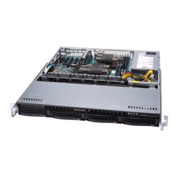 1U Rack Server - Supermicro SuperServer 6019P-MT Intel® Xeon® Scalable Processors SAS/SATA 1U Rackmount Server Computer