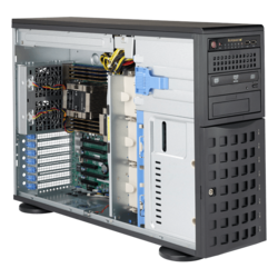 Tower Server - Supermicro SuperServer 7049P-TR Dual Xeon® Scalable Processors SAS/SATA 4U Rackmount / Tower Server Computer