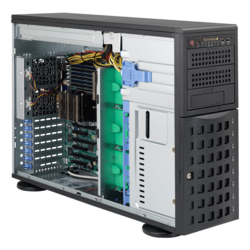 Tower Server - Supermicro A+ Server 4023S-TRT Dual AMD EPYC™ 7000-series SAS/SATA 4U Rackmount / Tower Server Computer