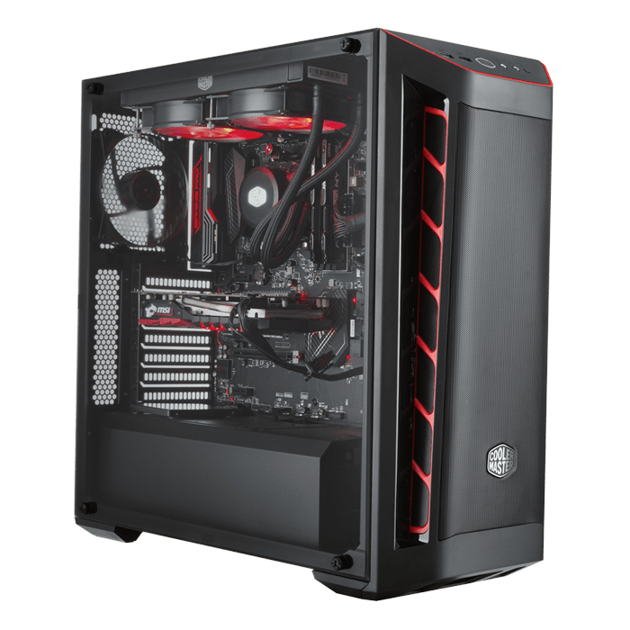3rd Gen AMD Ryzen™ Series, X570 Chipset, 2-way SLI® / CrossFireX™ Custom  Gaming PC