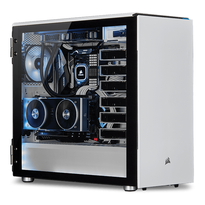 2nd Gen AMD Ryzen™ Series, X470 Chipset, 2-way SLI® / CrossFireX™ Custom  Barebone Desktop