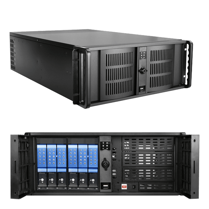 Intel Xeon® Scalable, C621 Chipset, 3-way GPU 4U Rackmount Workstation