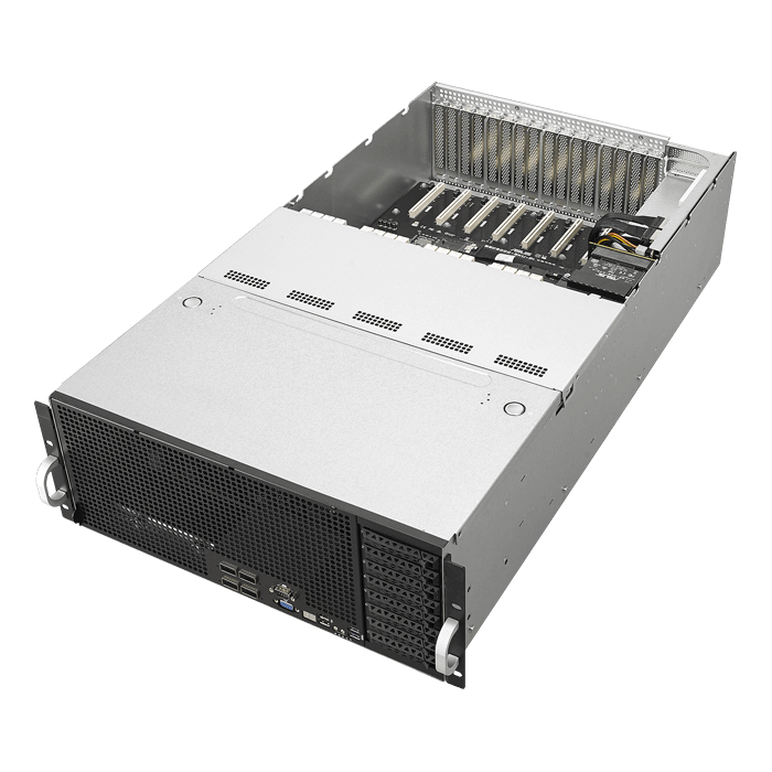 ASUS ESC8000 G4, 2nd Gen Intel® Xeon® Scalable, SATA/SAS, 4U Rackmount  Server Computer