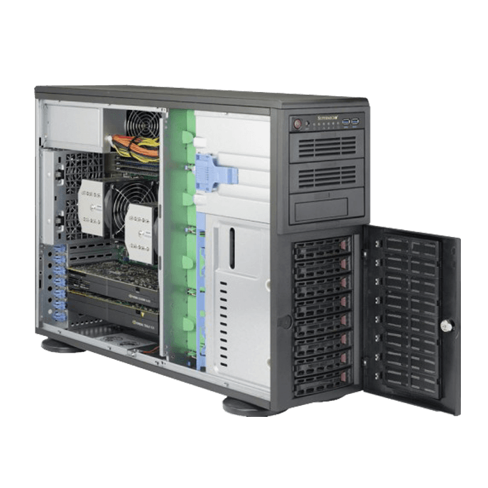 Supermicro Superserver 7048r Tr 4u Rackmount Tower