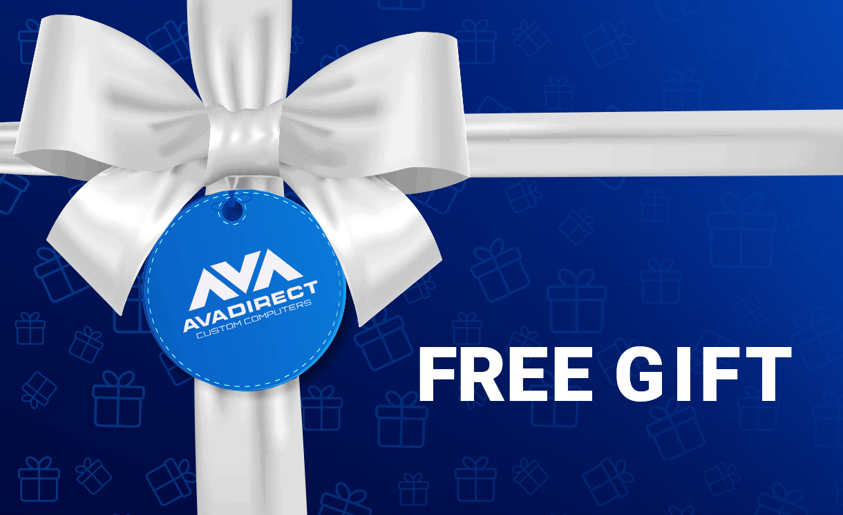 Get a Free Gift with Purchase on Instabuilder configurations!