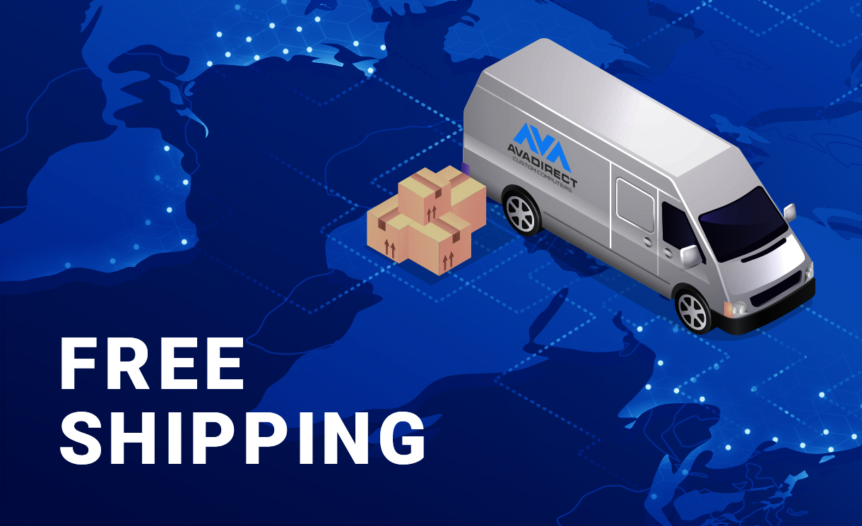 Get Free US Ground Shipping on Instabuilder configurations!